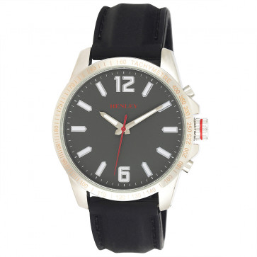 Lazer Cut Bezel Watch - Grey