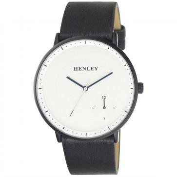 Contemporary Sub Dial Watch - Black