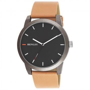 Triple Colour Pointer Watch - Brown