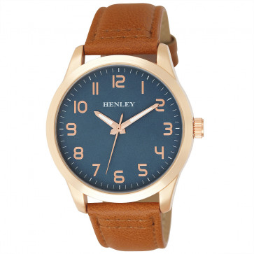 Contemporary One To Twelve Watch - Tan