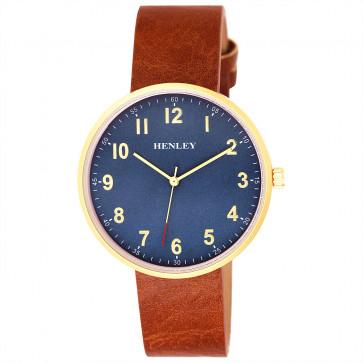 Slimline Distressed Watch - Tan