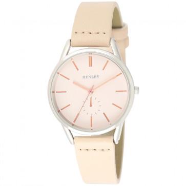 Cross Stitch Strap Watch - Cream
