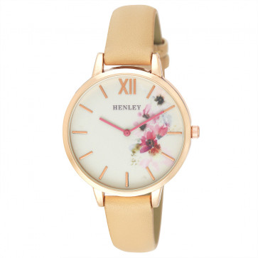 Pink Floral Watch - Honey