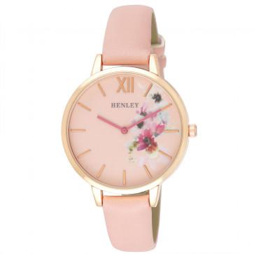 Pink Floral Watch - Pink