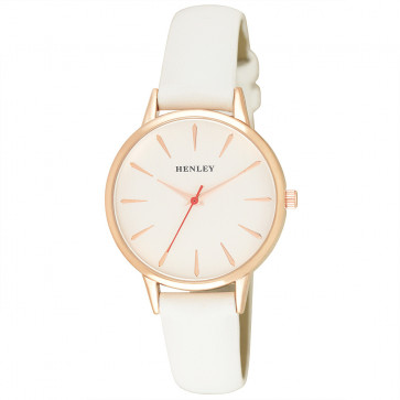 Tapered Index Watch - White