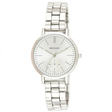Classic Bracelet Watch - Silver Tone