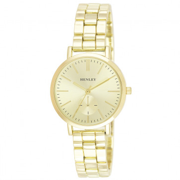 Classic Bracelet Watch - Gold Tone