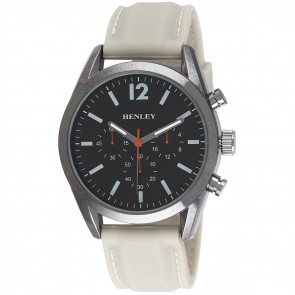 Contemporary Sports Silicone Watch - Stone