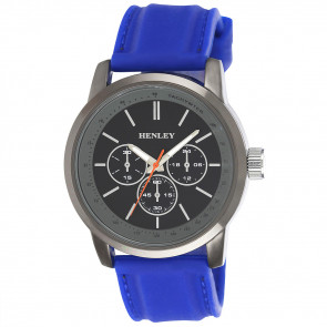 Silicone Sports Watch - Blue