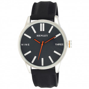 Bold Summer Watch - Black / Orange