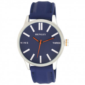 Bold Summer Watch - Blue / Orange