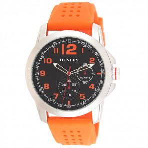 Silicone Crown Watch - Orange