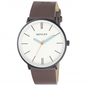 Tinted Turquoise Watch - Brown