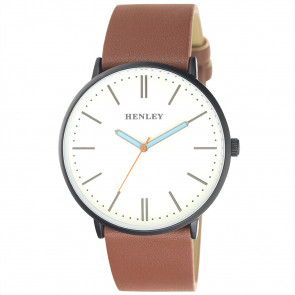 Tinted Turquoise Watch - Tan
