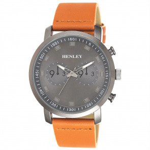 Raised Index Sports Watch - Tan