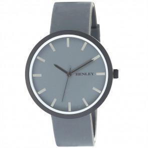 White Trim Sports Watch - Grey