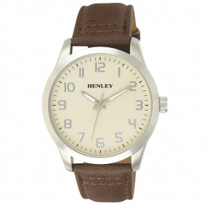 Contemporary One To Twelve Watch - Brown