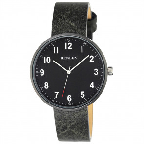 Slimline Distressed Watch - Grey