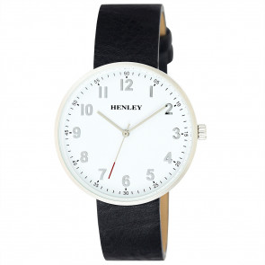 Slimline Distressed Watch - Black