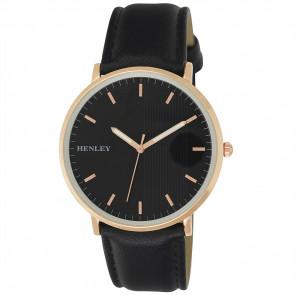 Pinstripe Watch - Black