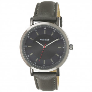 Textured Face Watch - Grey