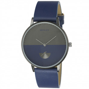 Gun Tinted Watch - Blue
