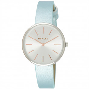 Modern Rose Index Watch - Blue