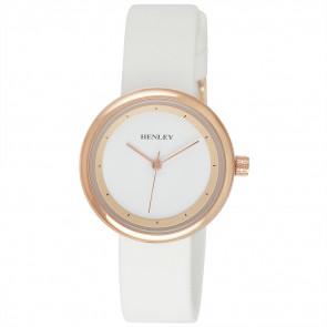 Slimline Sports Watch - White / Rose Gold Tone Highlights
