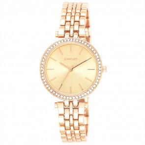 T-Bar Bracelet Watch - Rose Gold