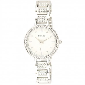 Diamante Bracelet Watch - Silver